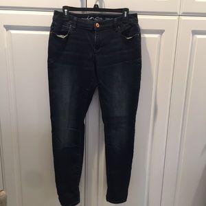 INC Denim Skinny Leg Curvy Fit Size 8